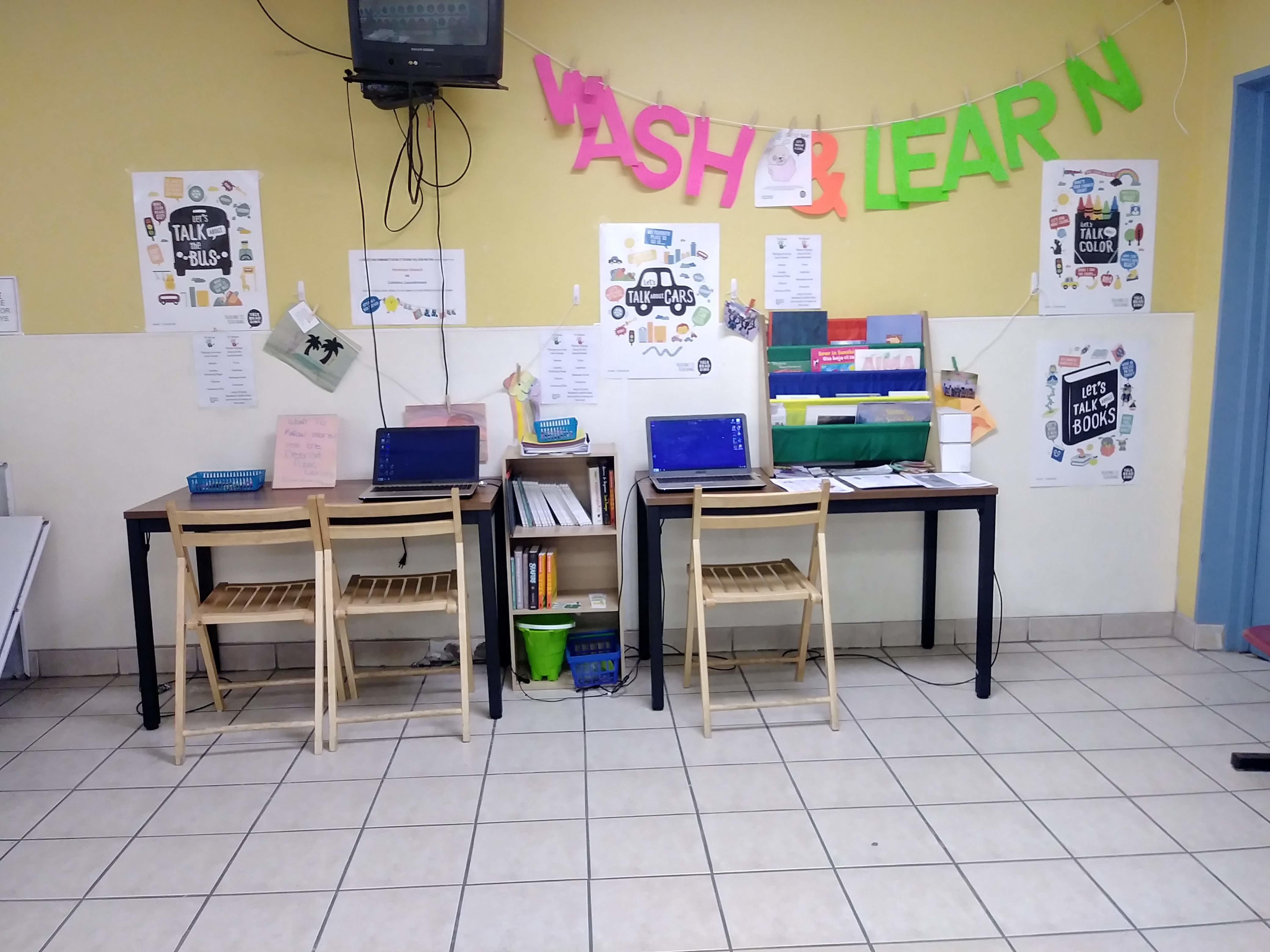 Wash and Learn program