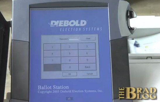 The researchers explain how they did the attacks on the e-voting system in a video on The Brad Blog and YouTube.
