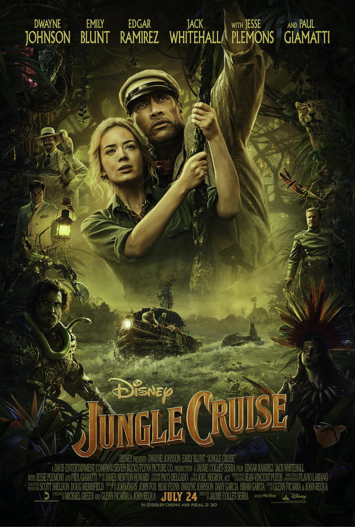 Jungle Cruise Disney poster