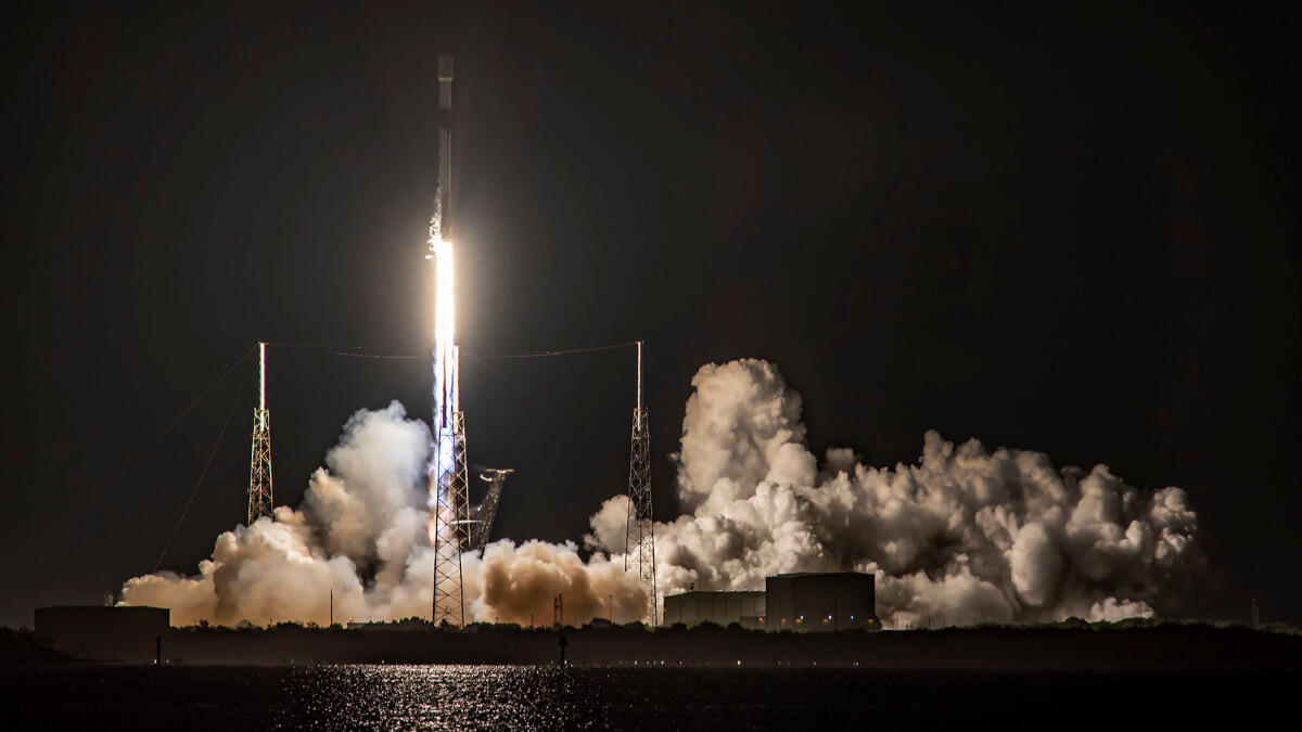 SpaceX rocket launch kicks off era of Starlink space lasers