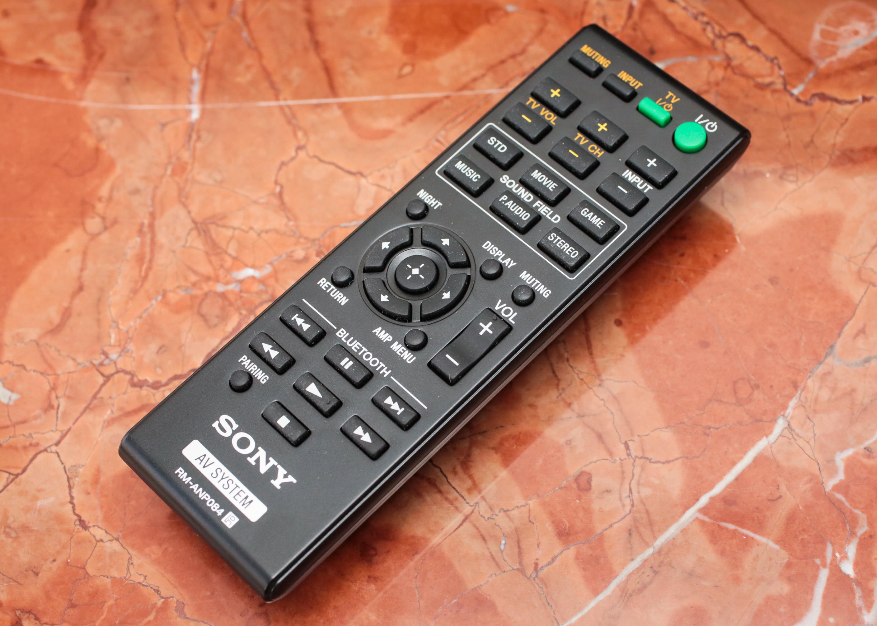 Sony HT-CT260 remote