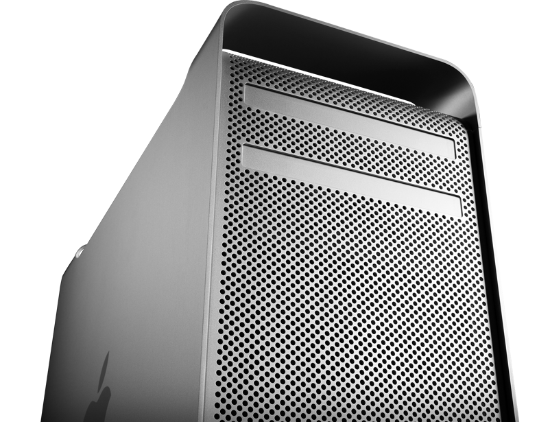 Apple's Mac Pro tower, which is said to be getting a refresh soon.