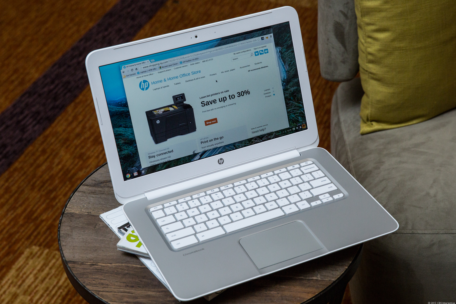 The HP Chromebook 14 will get Chrome OS updates through at least November 2018.