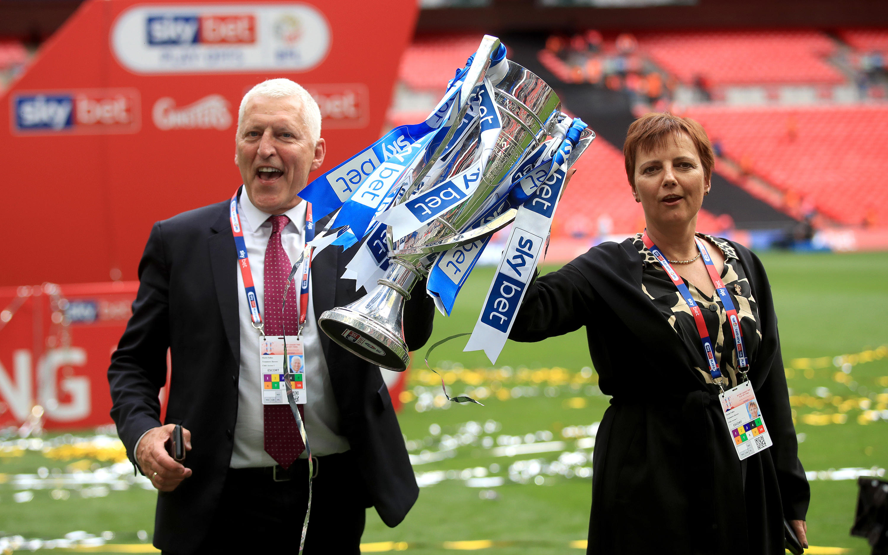 Tranmere Rovers v Newport County - Sky Bet League Two Play-off - Final - Wembley Stadium