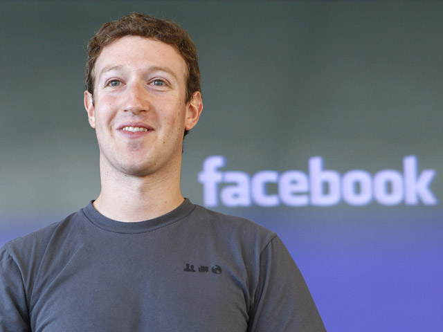 Mark Zuckerberg: Yeah, he's about to have a good week.