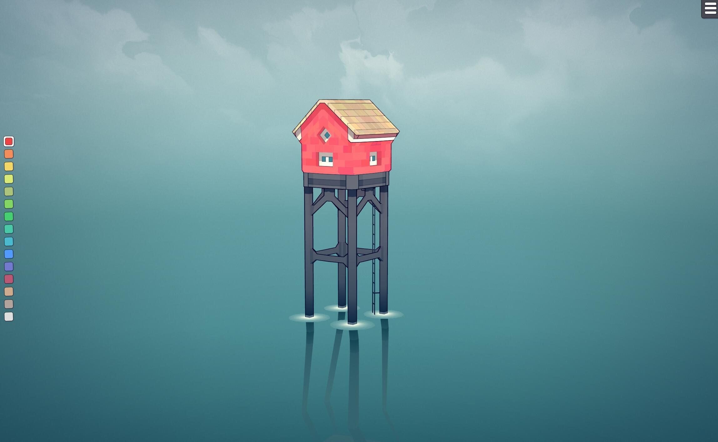 townscaper-house-on-stilts