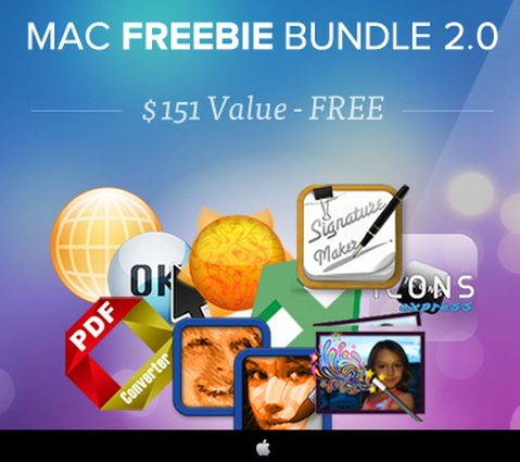 The StackSocial Mac Freebie Bundle 2.0 lives up to its name with 10 free apps.