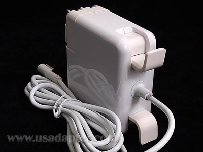 Usadapter.com is selling this power adapter labeled for use with Apple's laptops, but Apple has sued the site claiming patent infringement.