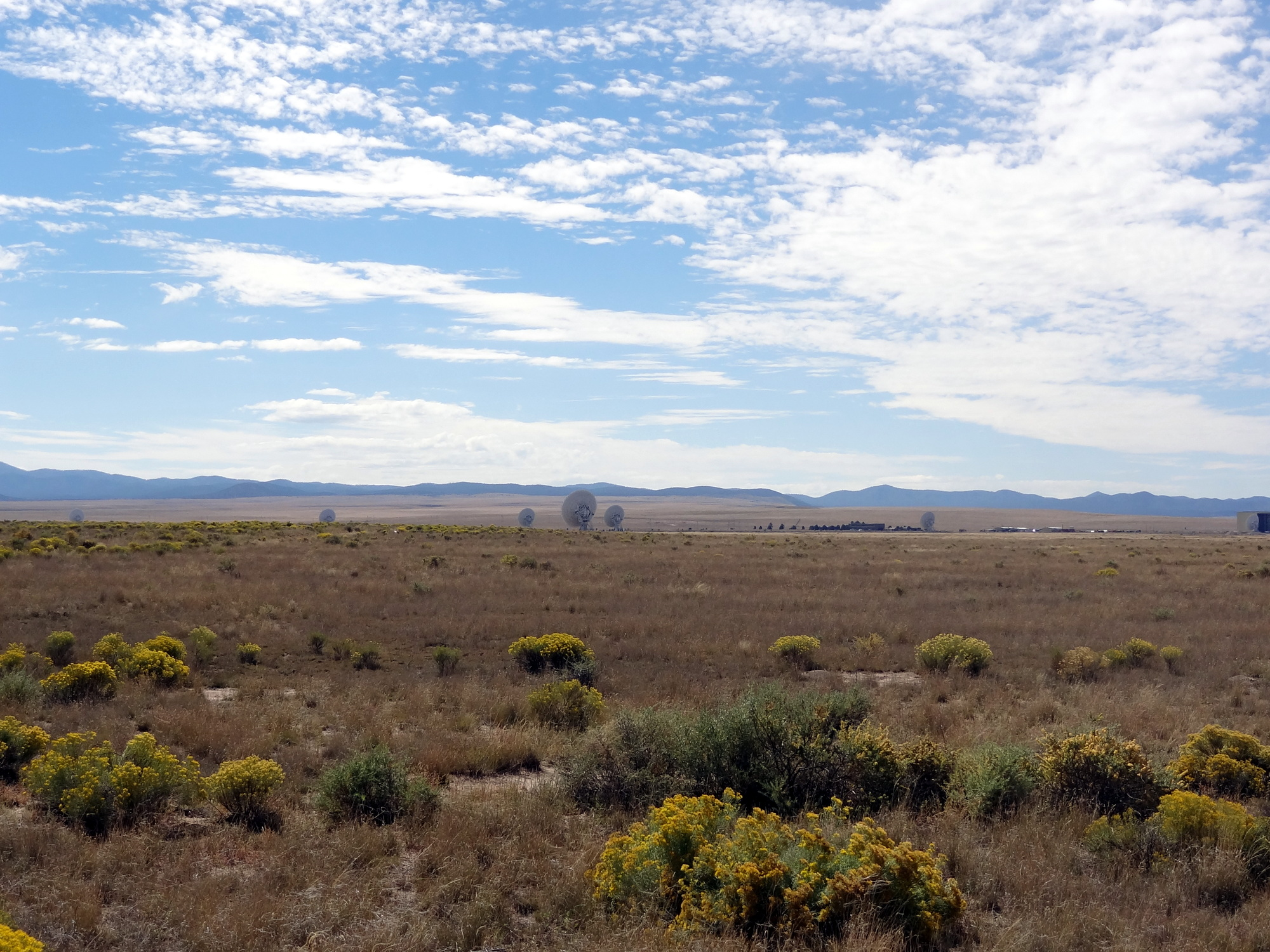 Wide view of the VLA