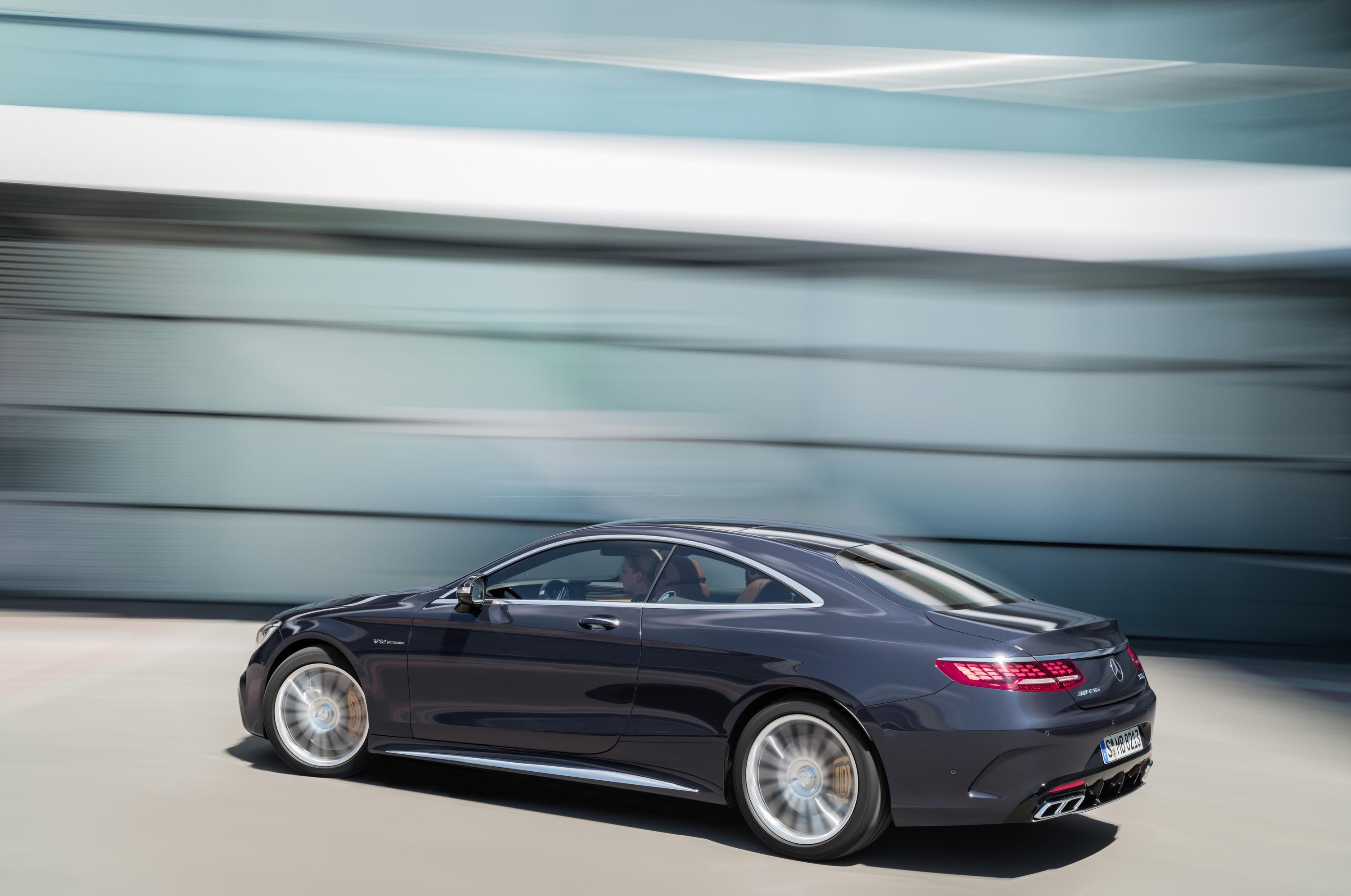 2018 Mercedes-Benz S-Class AMG S 65 Coupe