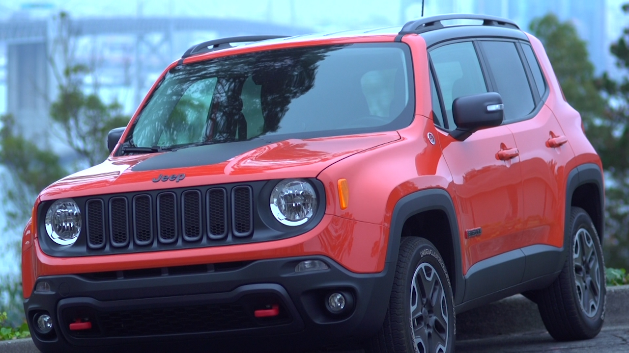 Video: 2015 Jeep Renegade Trailhawk
