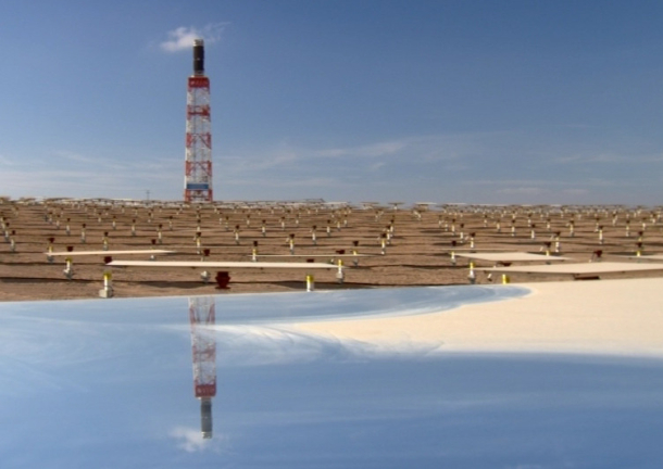 BrightSource solar thermal