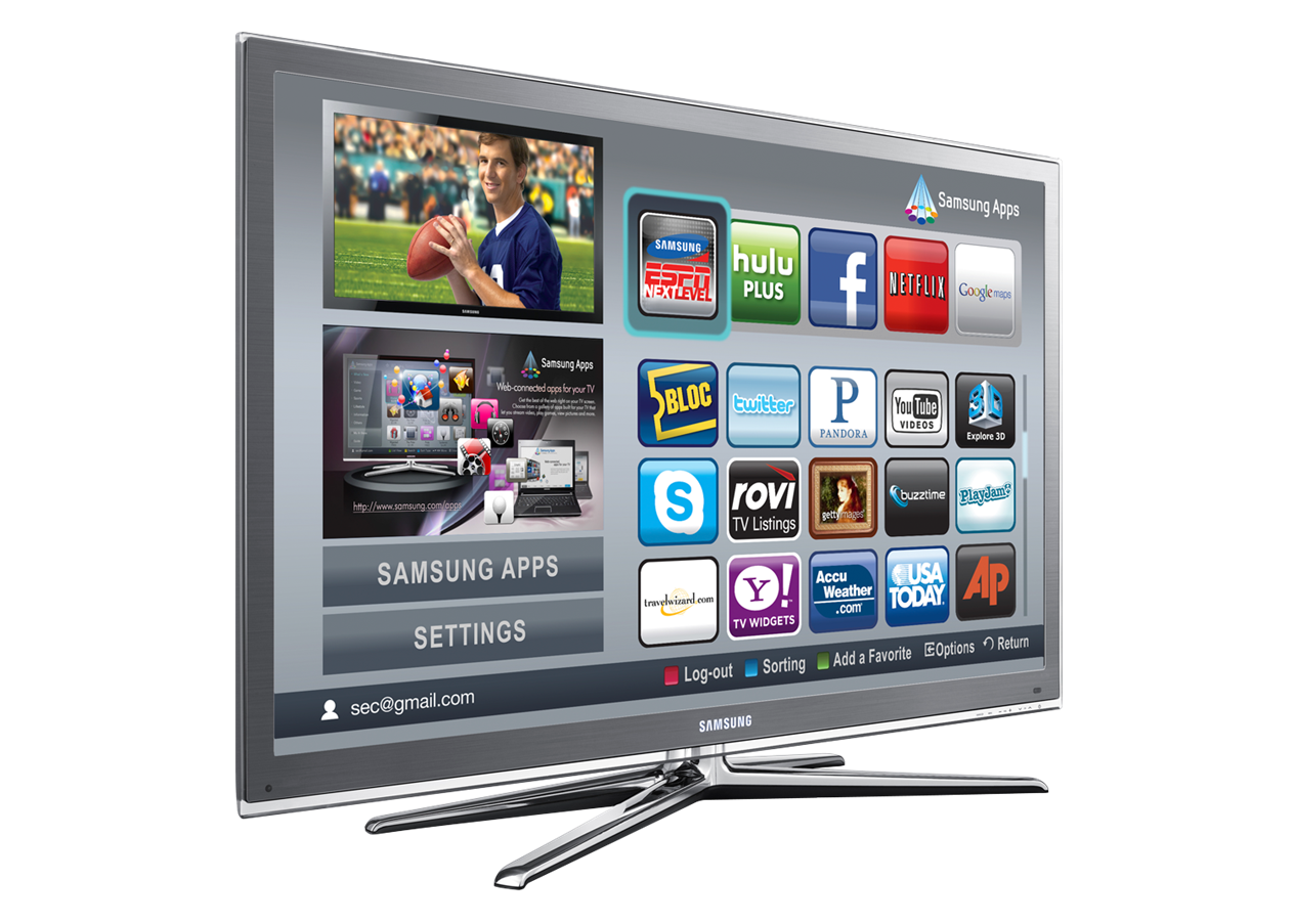Samsung has an app store for its TVs and is asking developers to make dedicated apps for it.