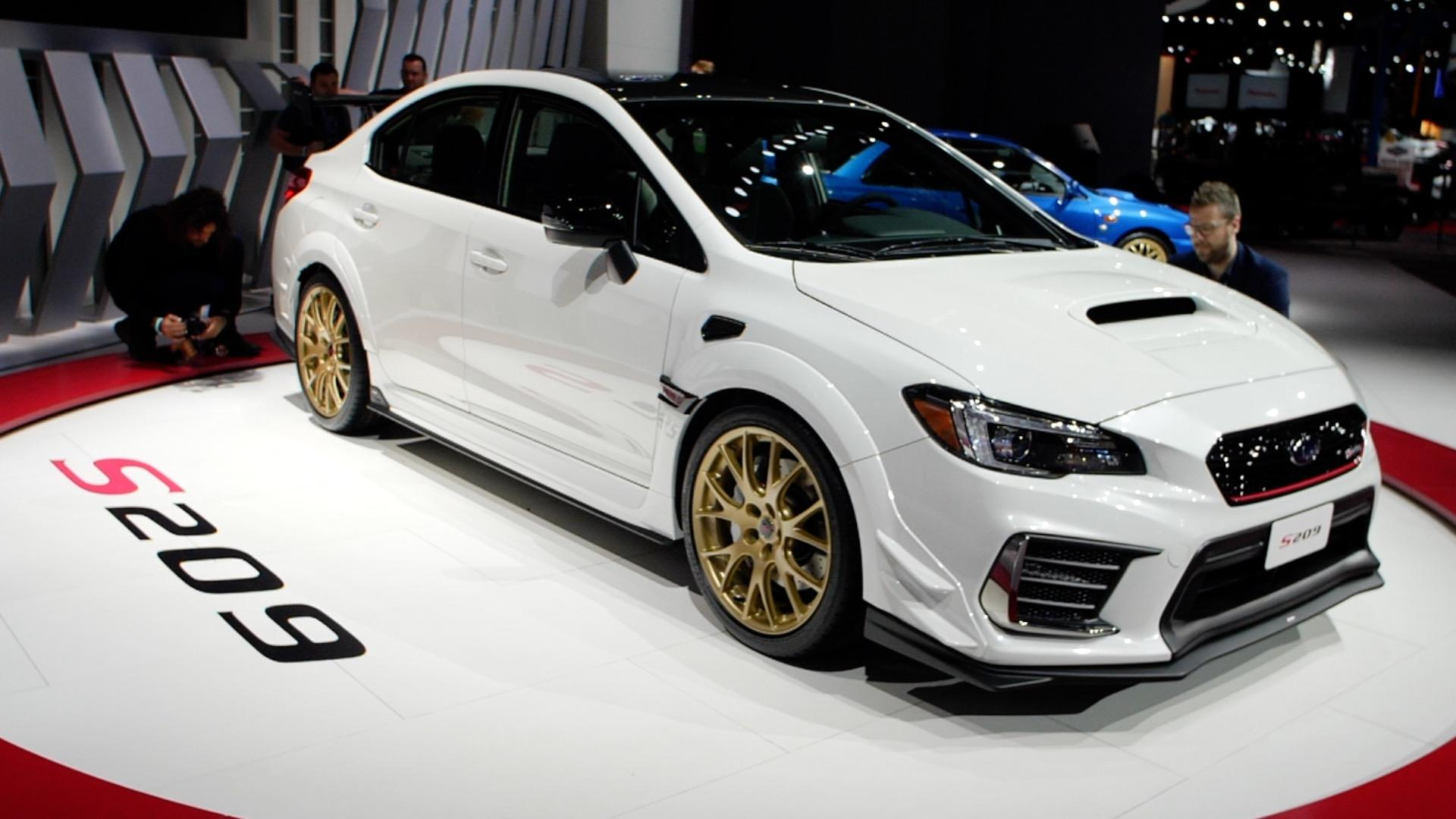 Video: Subaru WRX STI S209 is the most powerful STI ever