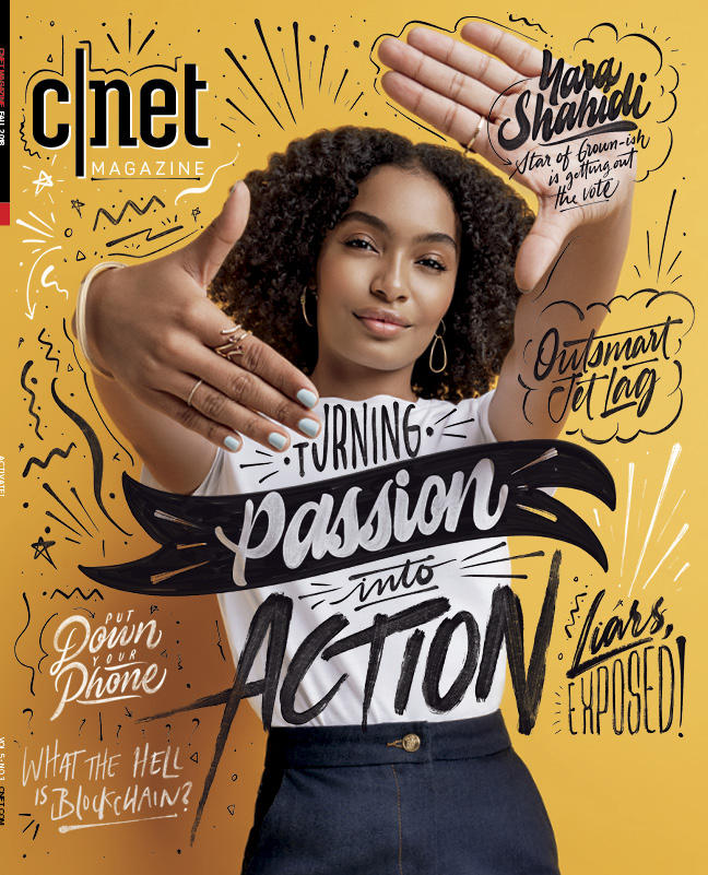 Yara Shahidi Winter 2018 cover
