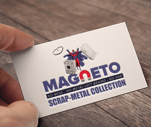 Magneto's Scrap Metal Collection