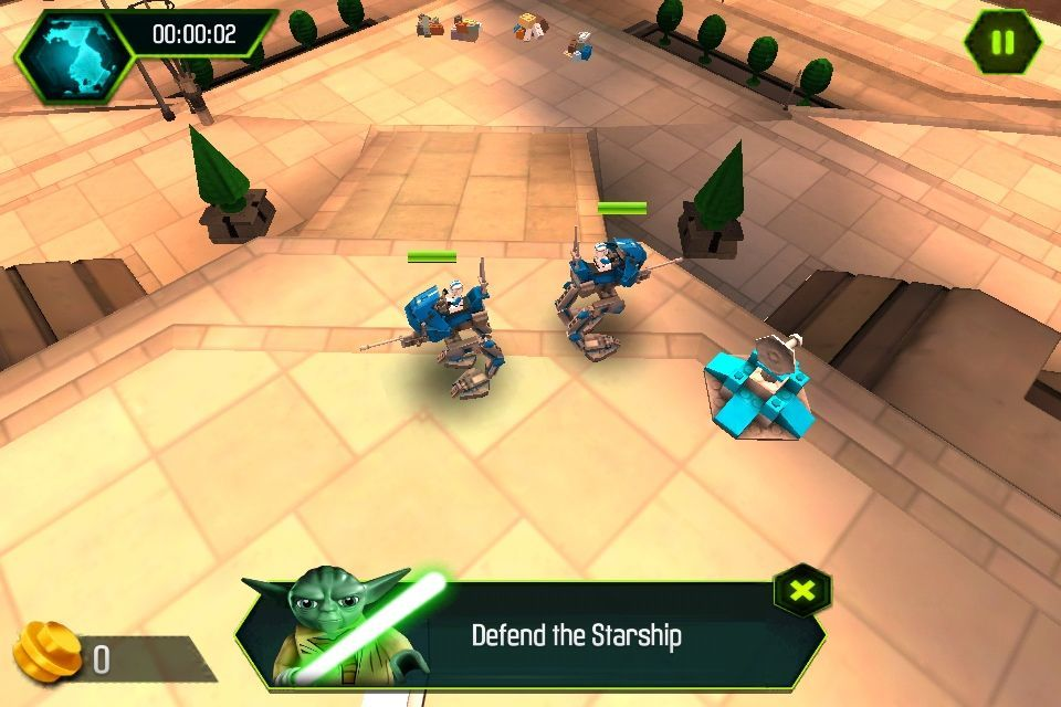 Lego Star Wars: The Yoda Chronicles offers fun, fairly simple RTS action.
