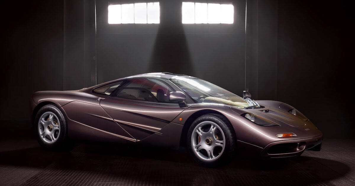Lowest Mileage McLaren F1 to Auction at Pebble Beach