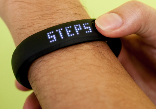 Nike's FuelBand also features pedometer functionality.