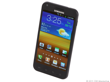 Samsung Epic 4G Touch uses Sprint's 4G WiMax network.