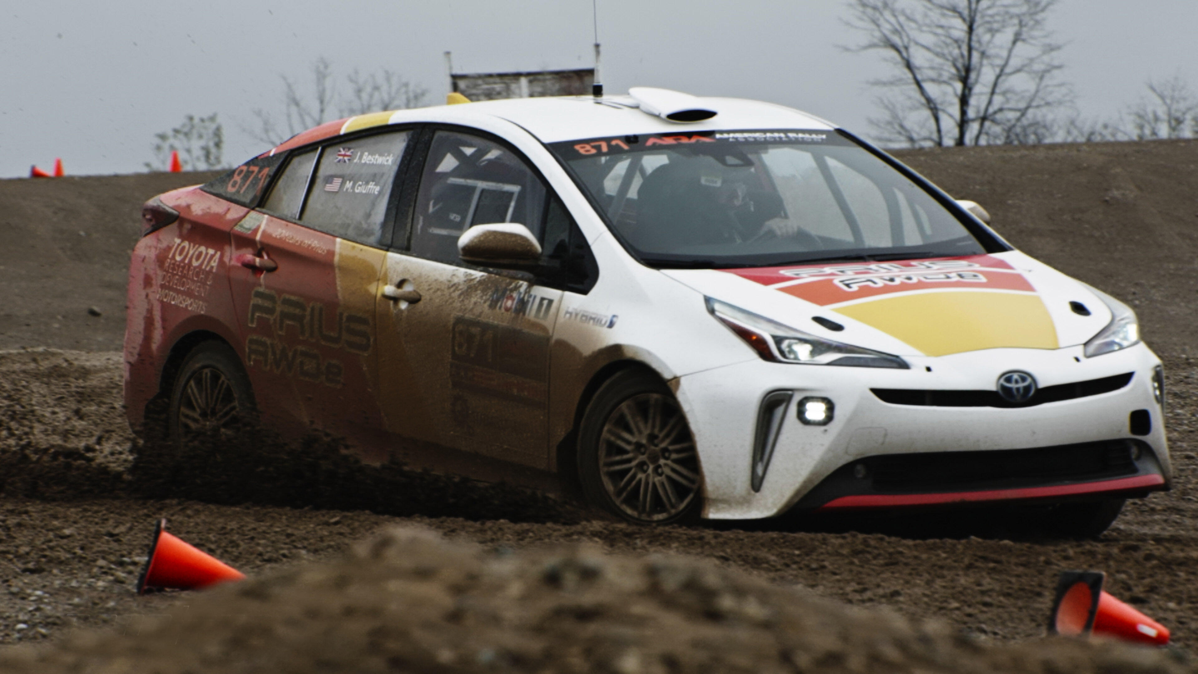 Video: Toyota built a Prius rally car and it's pretty awesome