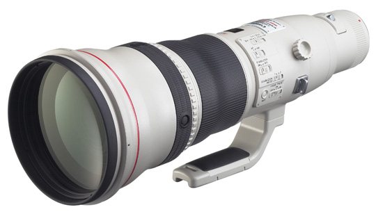Canon's new EF800mm F/5.6L IS USM lens will set you back a cool $12,000 when it hits stores this May.