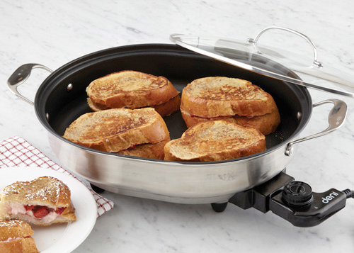 Two skillets are better than one.
