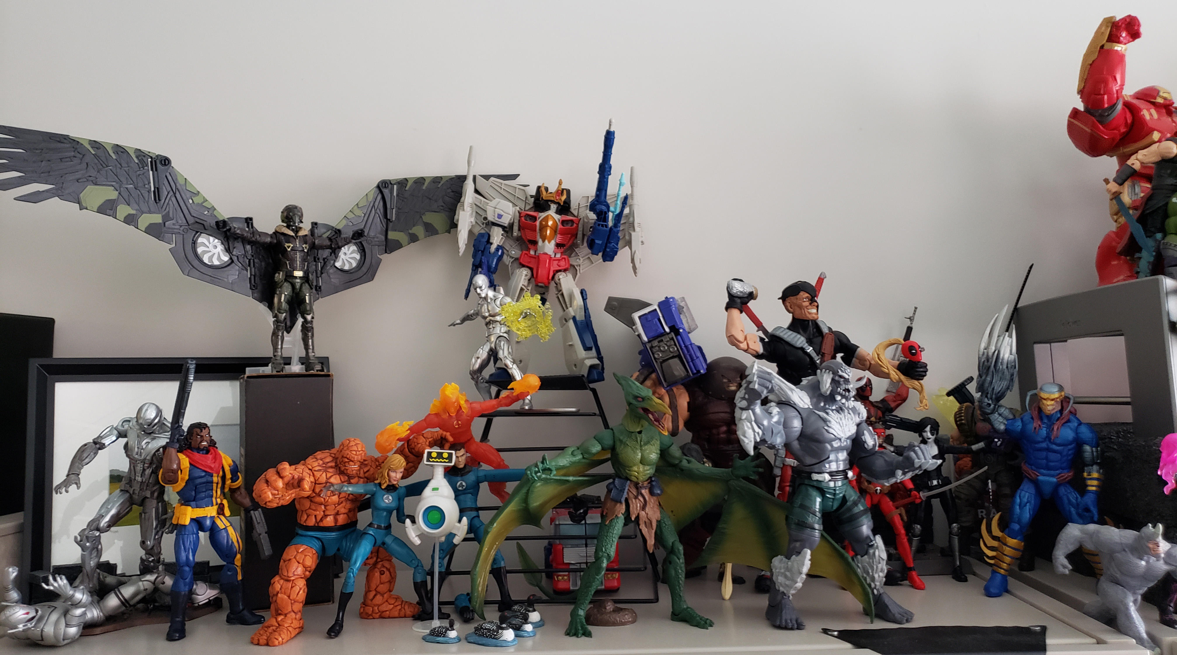 My collection of action figs (1 of 3)