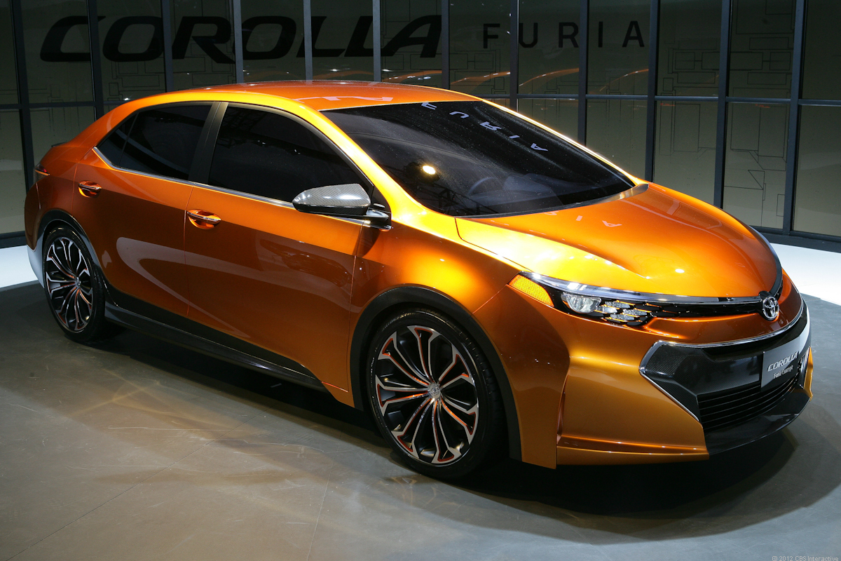 Brace yourself; the new Toyota Corolla is coming...