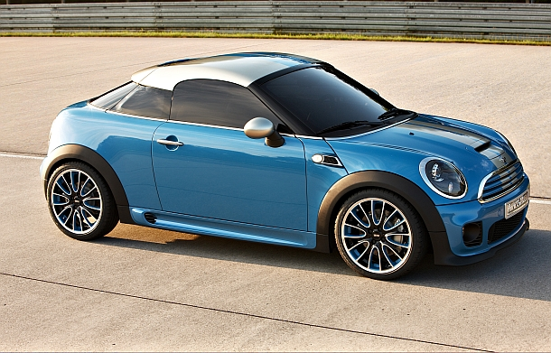 The Mini Coupe is even more 'couper' than the Cooper.