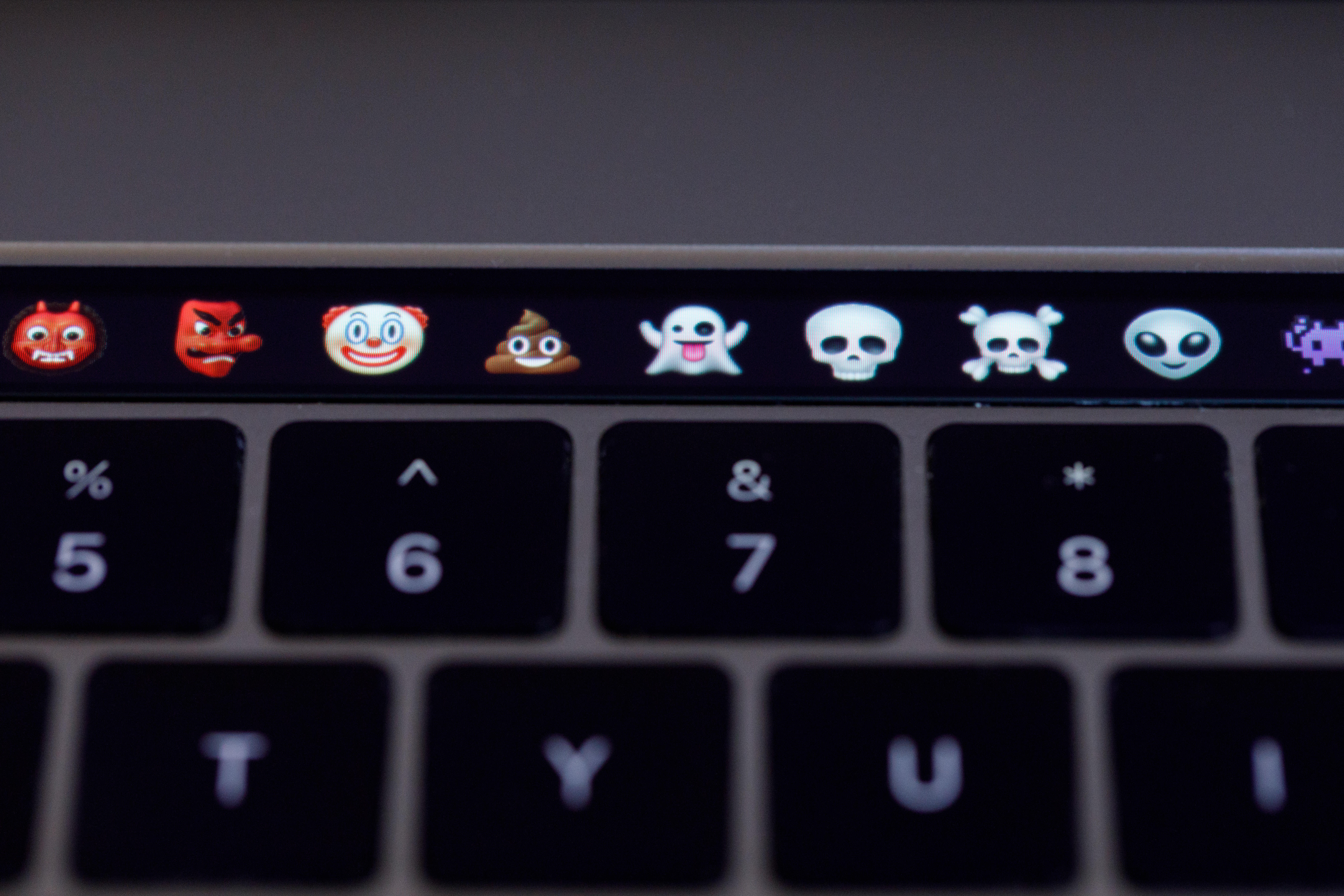 The MacBook Pro Touch Bar can be good for exploring emoji you may not know even exist.