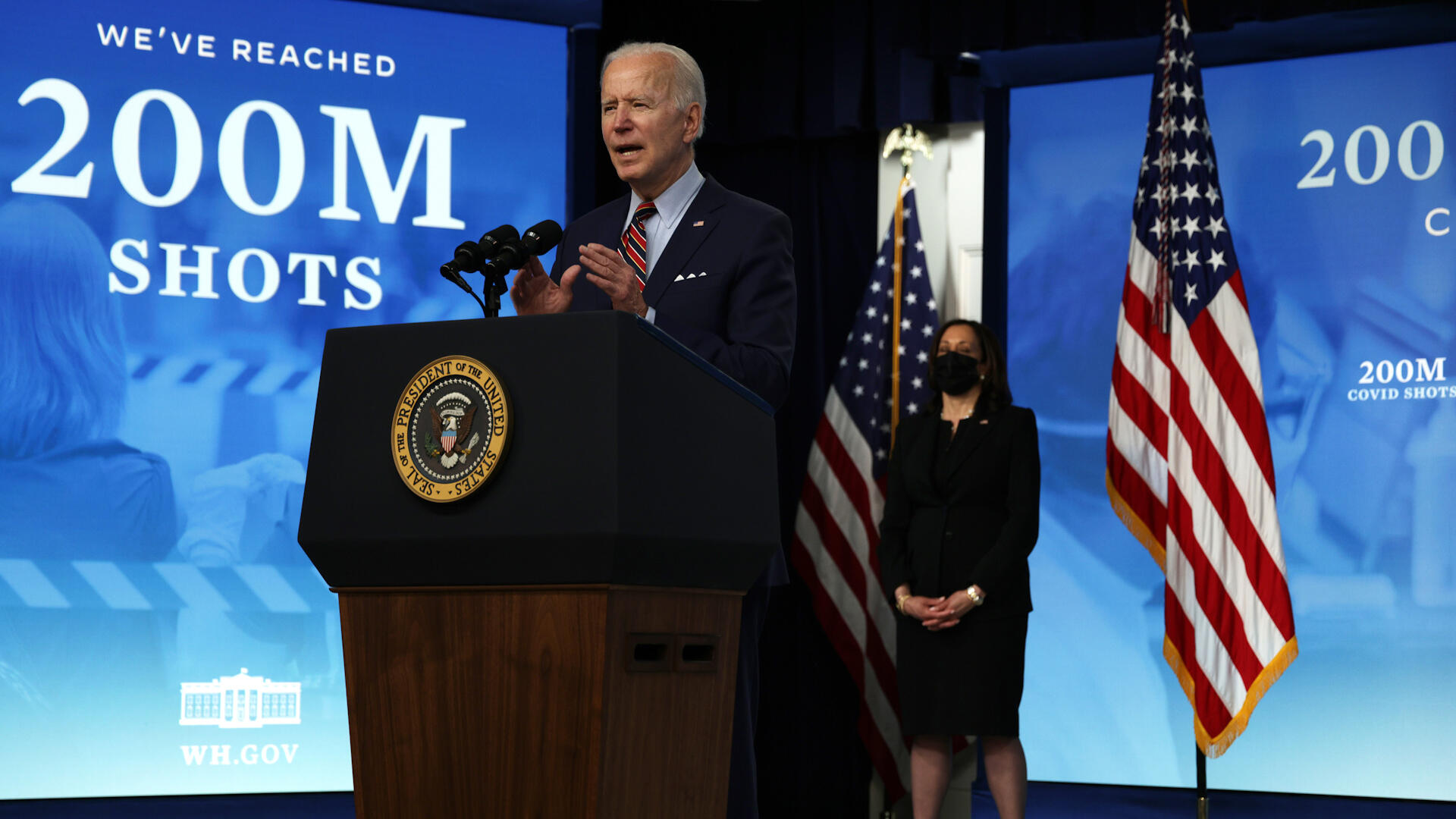 Video: Biden calls for paid vaccine leave, Amazon palm print readers come to Whole Foods