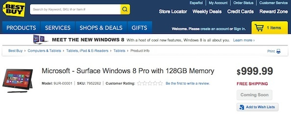 Best Buy's listing say's 'coming soon' but doesn't have an option to pre-order -- yet.