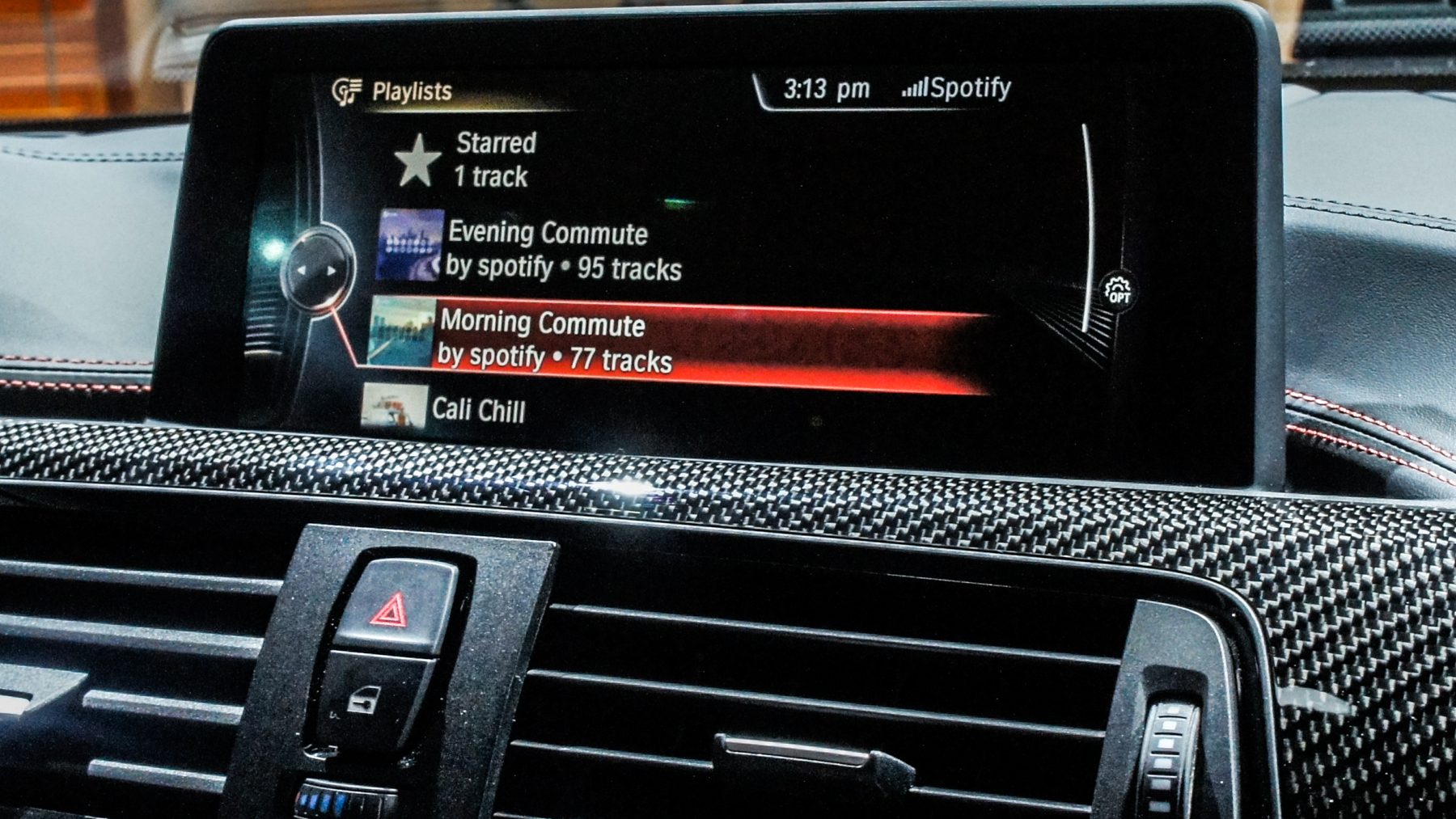 BMW ConnectedDrive with Spotify