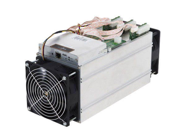 Cryptocurrency mining computers like this Antminer S9 from Bitmain may look modest, but when stacked by the thousands provide immense horsepower to make today's blockchains work.
