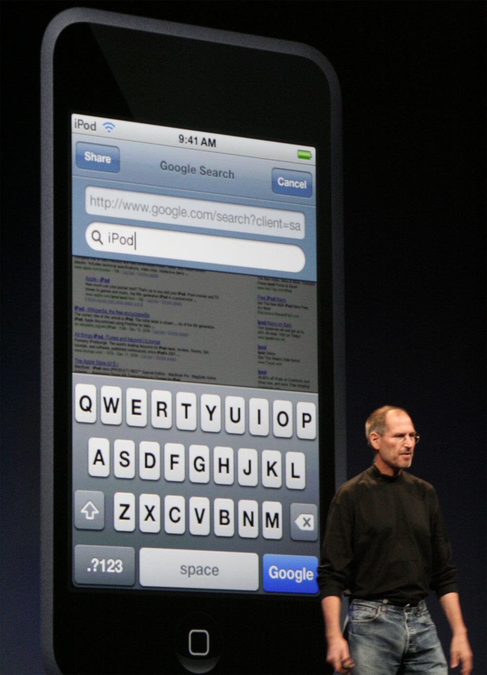 iPod touch Web