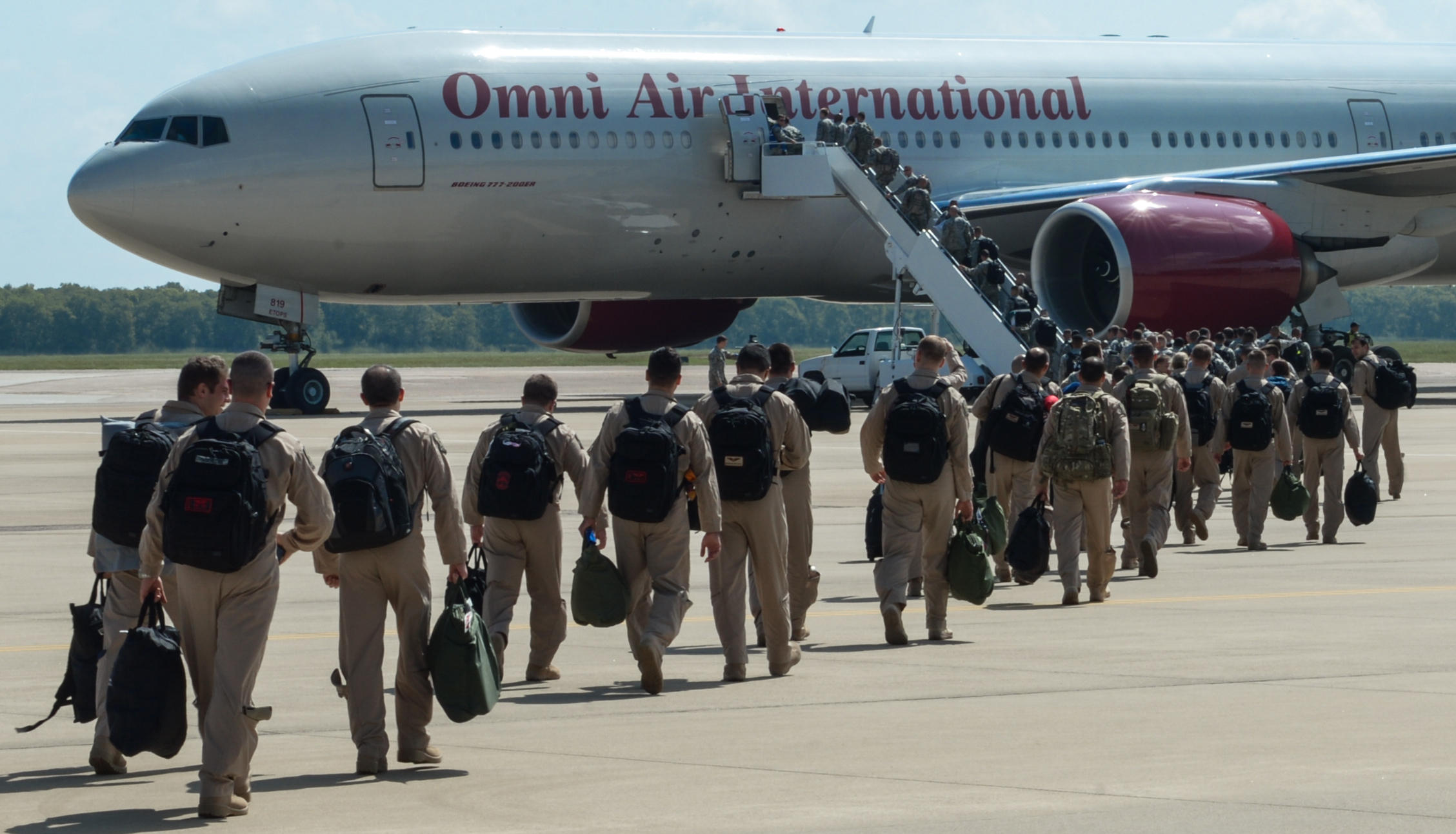 Barksdale Airmen deploy to Qatar to combat ISIS