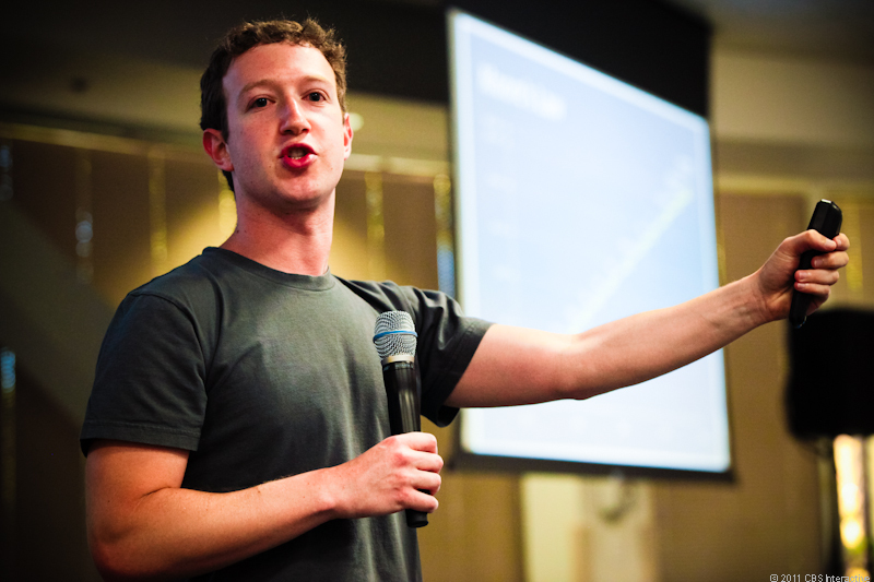 CEO Mark Zuckerberg introduces Facebook's new video chat features.