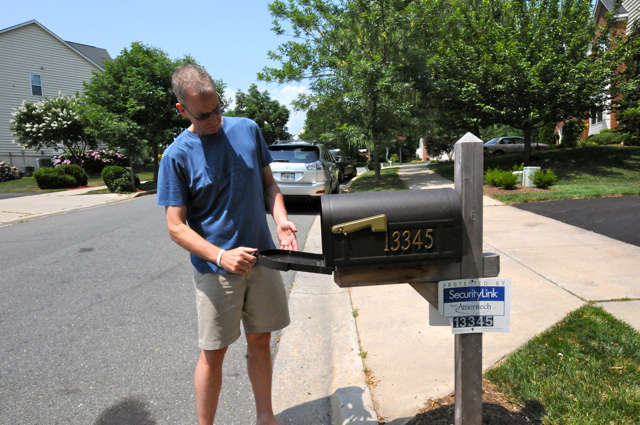 The famous mailbox