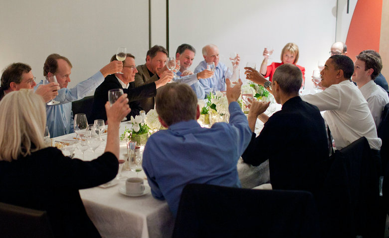 Obama dinner with tech execs