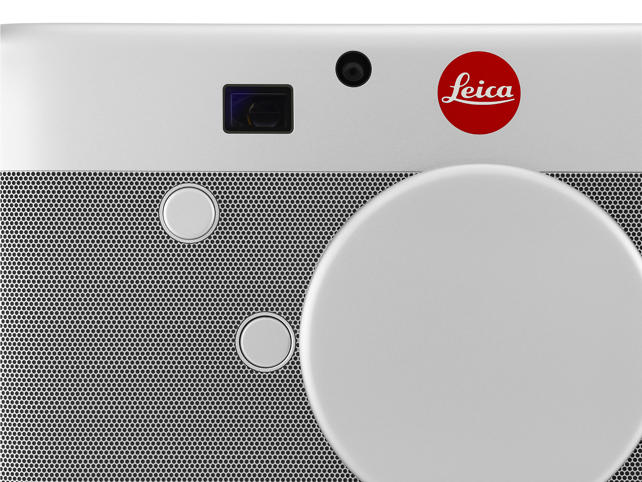 Leica's M (Red) camera - close up front