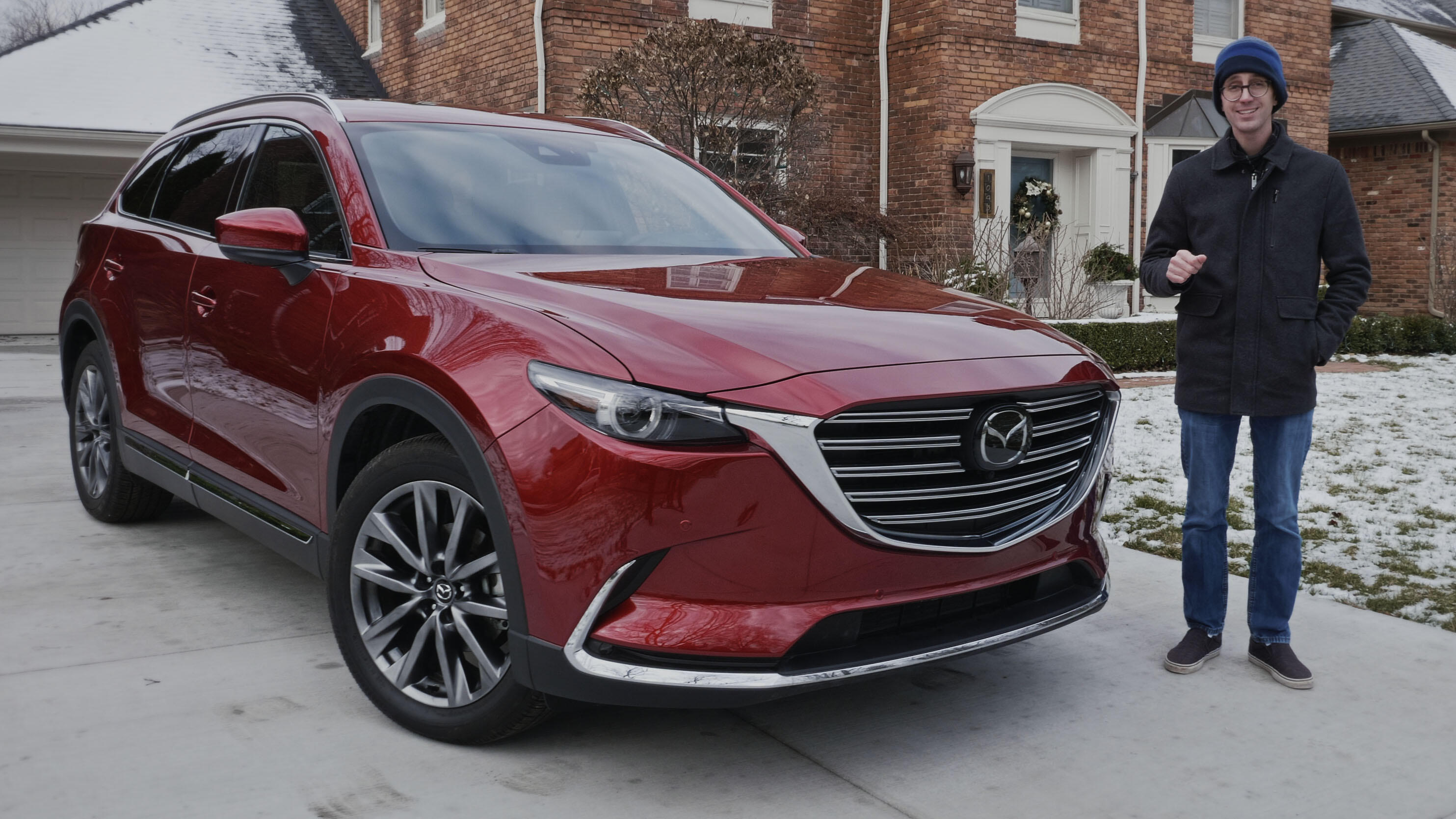 Video: 2020 Mazda CX-9 Touring is nicer than some luxury vehicles.