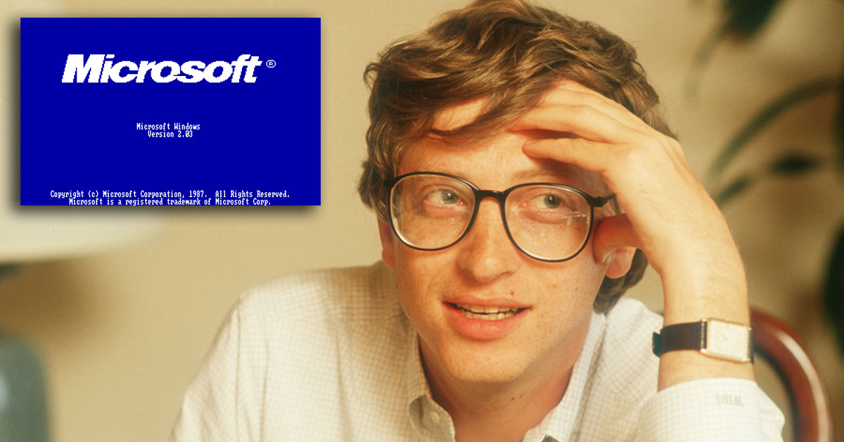 Here's what Bill Gates was up to in 1987