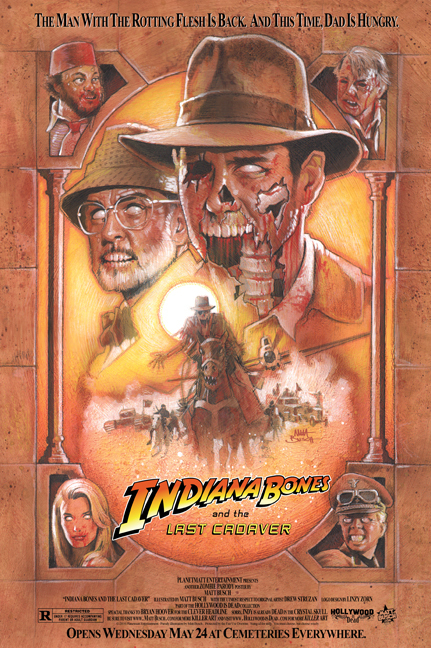 Indiana Bones and the Last Cadaver