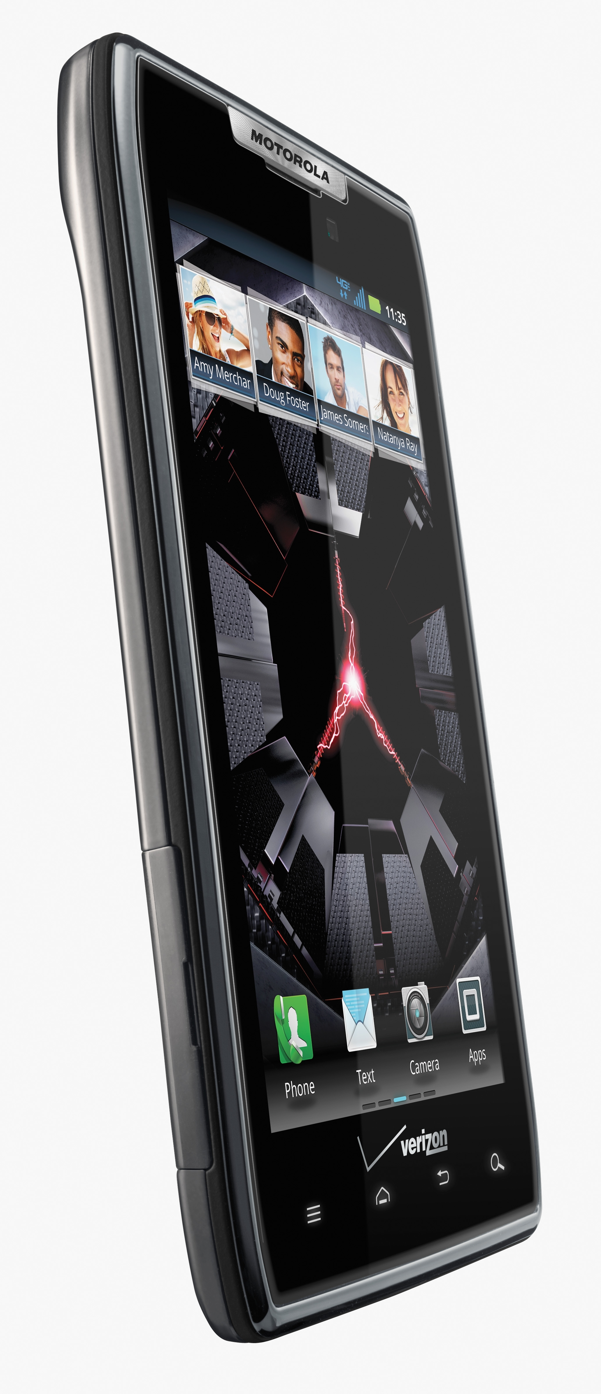 The Droid Razr is only 7.1mm thick