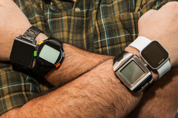 Foxconn has joined in on the growing smartwatch craze.