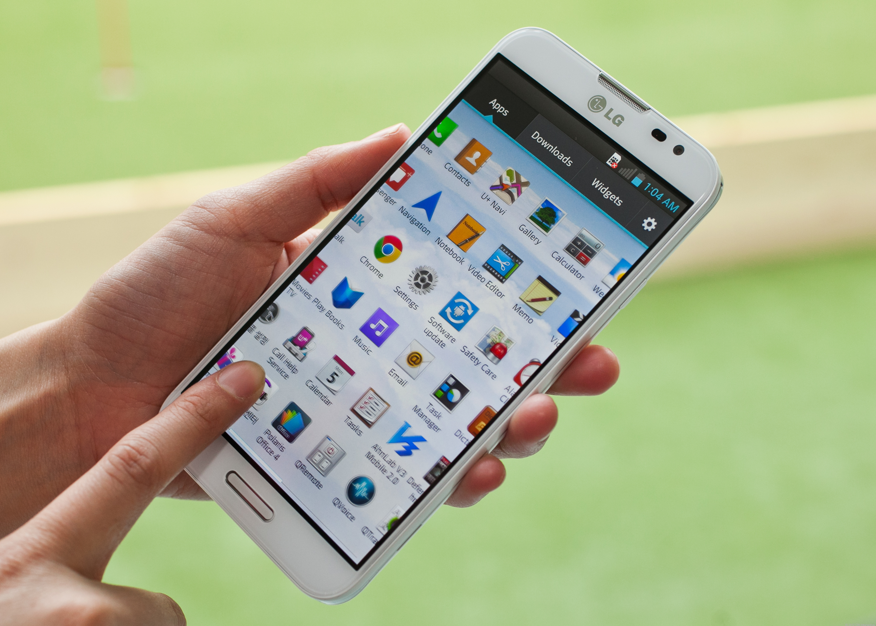 Sports Android Jelly Bean 4.1.2