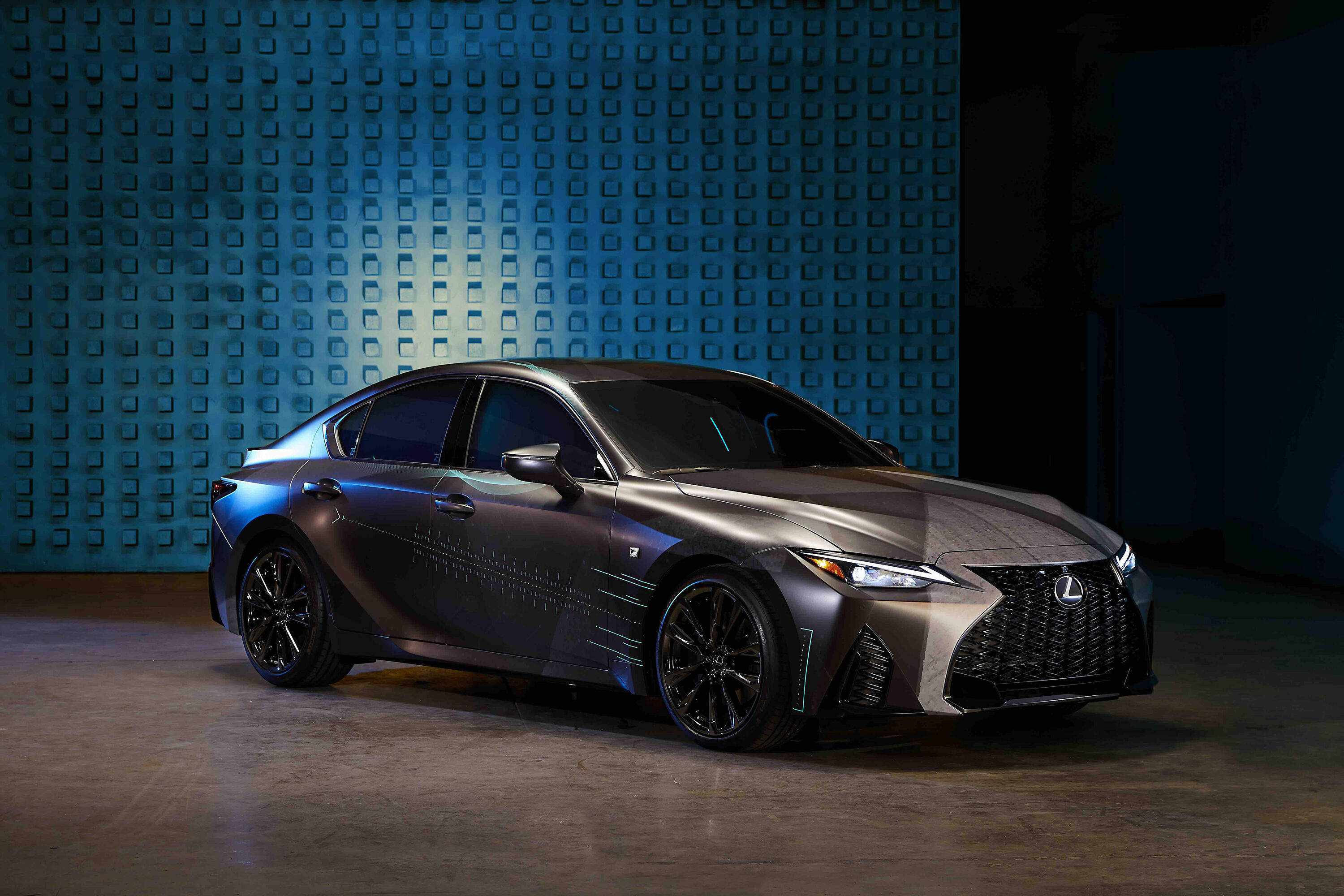 Lexus IS 350 F Sport Twitch concept