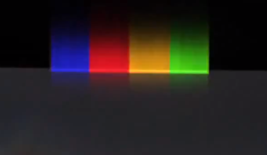 The light bar from the Chromebook Pixel video.