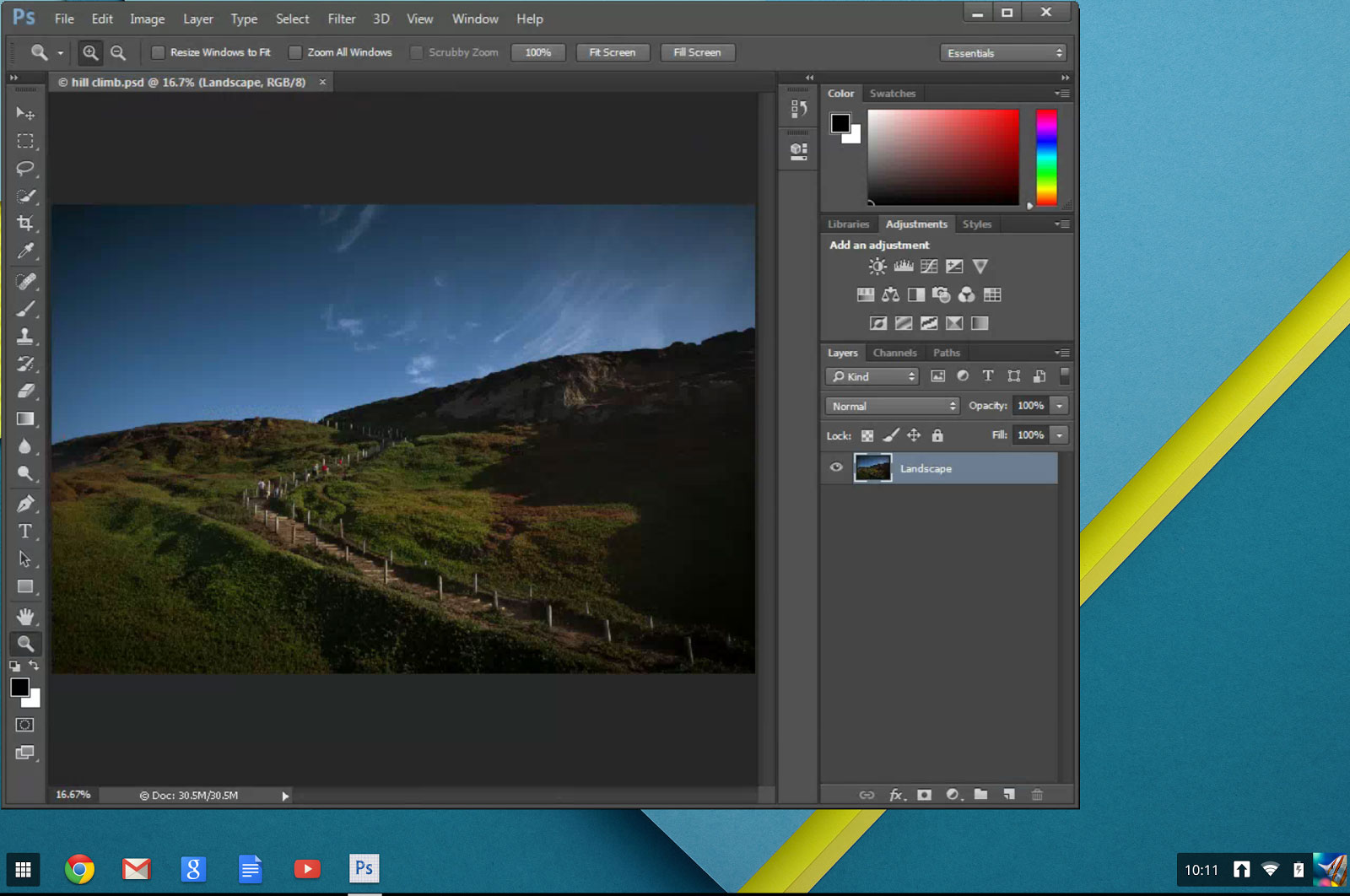 Photoshop Streaming brings Adobe's flagship image-editing software to even low-end Chromebooks that ordinarily just run Web apps.